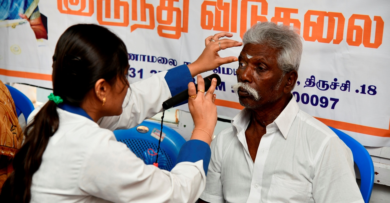Eye Camp as part of CSR activities
